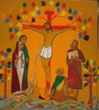 icone croix glorieuse