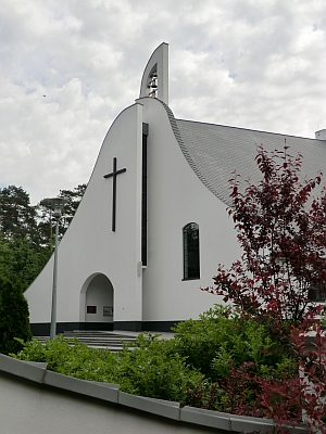Eglise du monastère del'Annonciade de Grablin en pologne