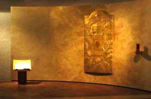 l'accueil à l'hotellerie de l'abbaye de Belloc