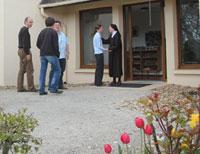 Accueil de visiteurs à Flavignerot