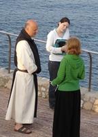 Visiteurs à l'Abbaye de Lérins