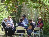 accueil famille à l'abbaye de Maumont