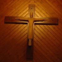 croix de l'église abbaye de Maumont