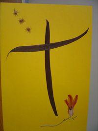 croix resurrection abbaye maumont