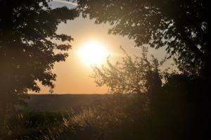 lever de soleil abbaye de maumont