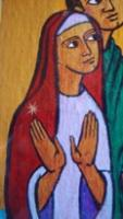 La Vierge Marie accueille à l'abbaye de Maumont