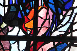 vitrail Monastère La Paix Notre Dame