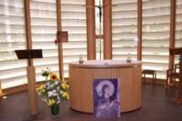 intérieur chapelle des Clarisses de Senlis