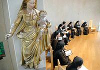 carmel saint-maur choeur vierge vocation