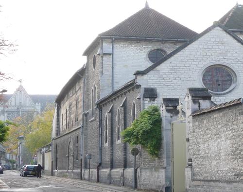 Monastère des Clarisses de Troyes - des anges sous la neige
