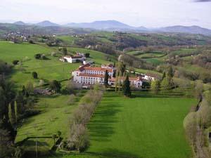 Vue aérienne de notre Monastère