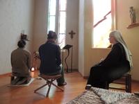 Retraite spirituelle pour les jeunes. Temps de prière
