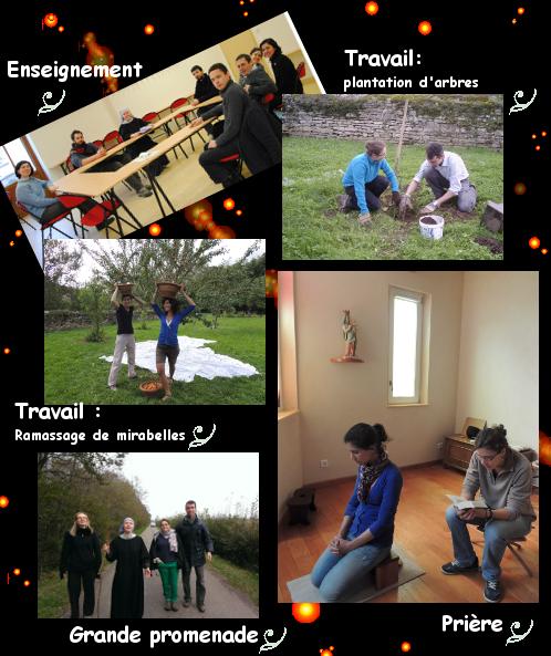 Retraite spirituelle pour les jeunes à l'Abbaye de Venière