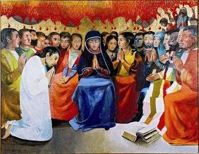 Carmel de verdun Pentecôte