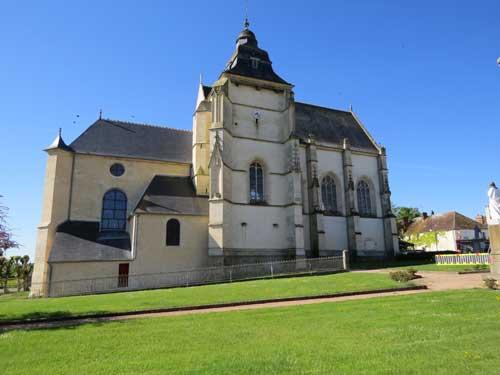 ancienne église abbatiale d'Almenesches, devenue église paroissiale