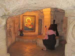 priere a la grotte du lait a bethleempetit