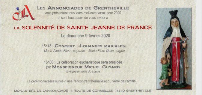 grentheville sainte jeanne concert 2020