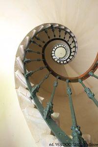 escalier abbaye maumont